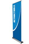 """31.5"""" x 83.35"""" Roll Up Commercial Banner Stand"""