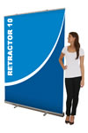 """59"""" x 78.5"""" Large Single-sided Pull Up Banners"""