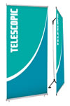 """38.75"""" x 85.75"""" 1-sided Tension Banners"""