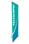 """31"""" x 77"""" One-sided L Banner Stands"""