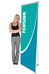 """31"""" x 77"""" Single-sided Pull-up Retractable Banners"""