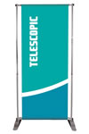 48 x 96 1 or 2-sided telescopic Pull Up Banners