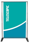 95 x 96 - Single or Double-sided Pegasus Roll Up Banners
