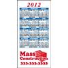 2x4 Custom Calendar Magnets