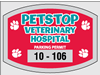 "2.75"" x 2"" Custom Parking Sticker Template"