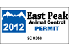 """4.25"""" x 2.25"""" entry pass decals"""