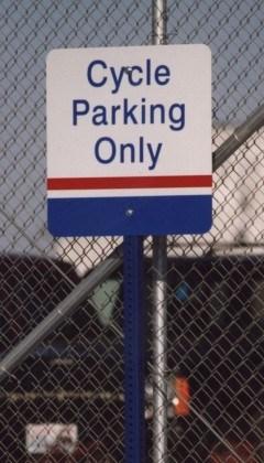 customized parking signage