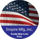 Two-faced flag decal