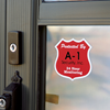residential and commercial Security alarm decals