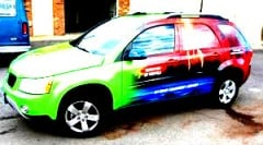 full color printing of vinyl sticker decals