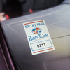 decals for parking permits