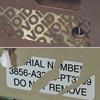 voidable destructible tamper resistant labels decals