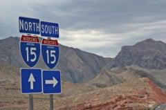 Interstate Highway Traffic Guidance Signs