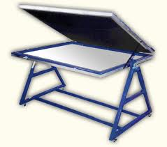 Vacuum Frame for Exposing Screens for Screen Printing of Signs
