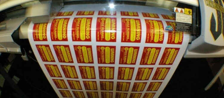 Full Color Printing of Vinyl Decal Stickers for Small Businesses | Visigraph