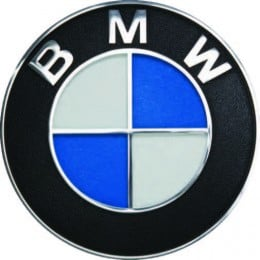 BMW metal logo