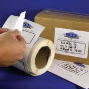 on roll labels