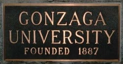 metallic bronze plaque signage