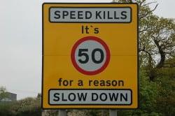 Speed Limit Marker