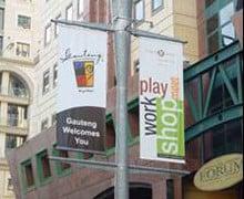 polyvinyl plastic outdoor banners