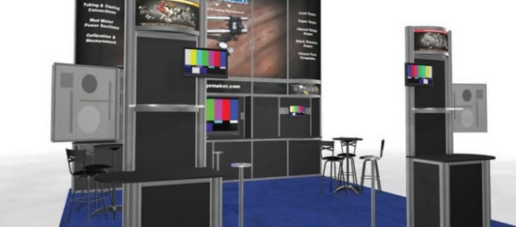 Trade Show Booth Graphics : Trade show booths expomarketing