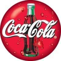 Coca-cola logo printing