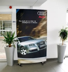 Tension Banner Fabric Display