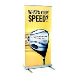Dye Sublimated Tension Banner