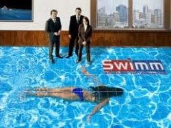 Swimming Pool 3D Floor Graphics