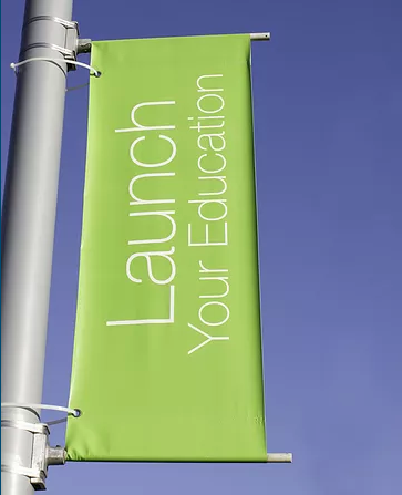 Custom Light Pole Banners Wholesale
